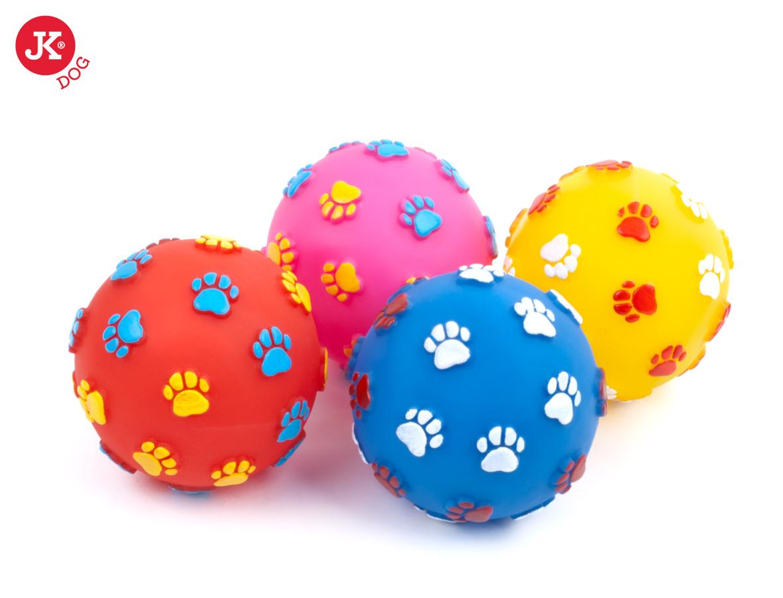 JK ANIMALS vinylová pískací hračka míč tlapky | © copyright jk animals, všechna práva vyhrazena