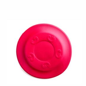 JK Frisbee červené 17 cm, odolná hračka z EVA peny