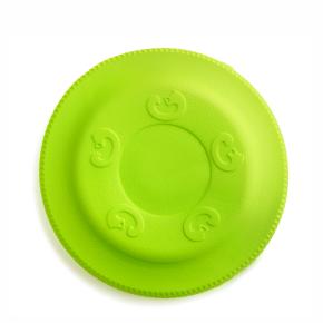 JK Frisbee zelené 22 cm, odolná hračka z EVA peny