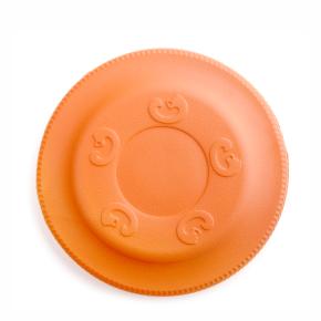 JK Frisbee oranžové 22 cm, odolná hračka z EVA peny