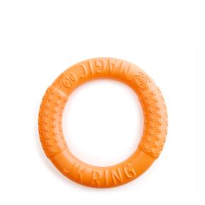 JK Magic Ring oranžový 17 cm, odolná hračka z EVA peny