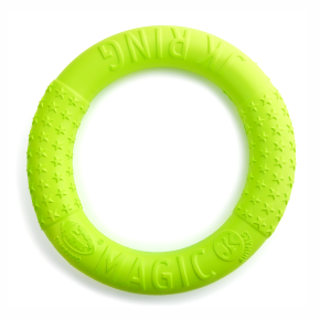 JK Magic Ring zelený 27 cm, odolná hračka z EVA peny
