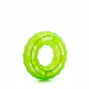 JK TPR - kruh zelený, odolná (gumová) hračka z termoplastickej gumy