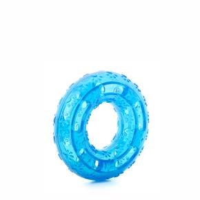JK TPR - kruh modrý, odolná (gumová) hračka z termoplastickej gumy