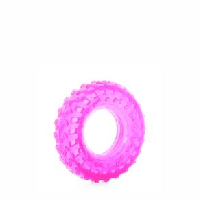 TPR – ružová pneumatika, odolná (gumová) hračka z termoplastickej gumy