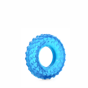 TPR – modrá pneumatika, odolná (gumová) hračka z termoplastickej gumy