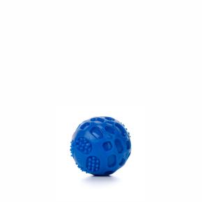 TPR – lopta Strong modrá, odolná (gumová) hračka z termoplastickej gumy