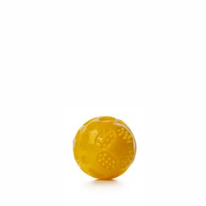 TPR – lopta Strong žltá, odolná (gumová) hračka z termoplastickej gumy