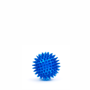JK Lopta s pichliačmi - modrý 6 cm