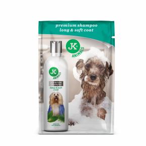 JK Šampón pre dlhú srsť, prémiový šampón pre psy