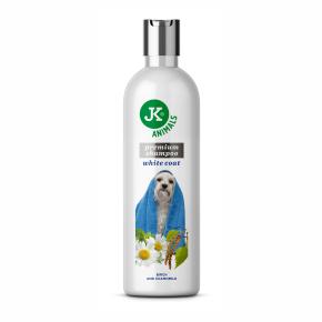 Šampón pre svetlú srsť sa zjemňujícímu účinky, prémiový šampón pre psy