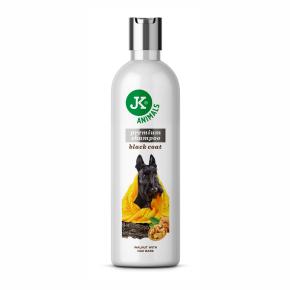 Šampón pre tmavú srsť sa zjemňujúcimi účinkami, prémiový šampón pre psy