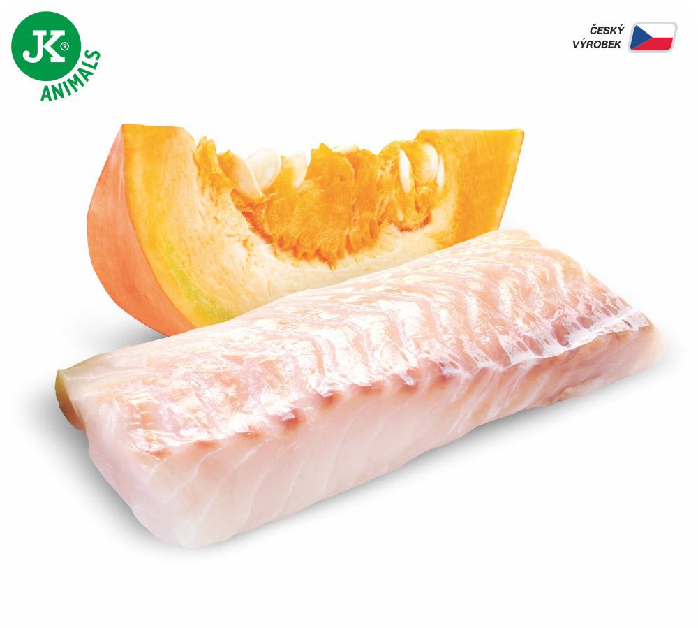 JK ANIMALS Fish & Pumpkin, Premium Paté with Chunks | © copyright jk animals, všetky práva vyhradené