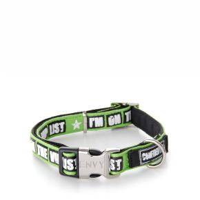 Envy - obojok VIP 15 mm, zelený