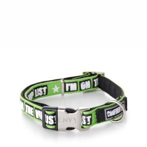 Envy - obojok VIP 20 mm, zelený