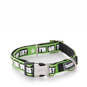 Envy - obojok VIP 25 mm, zelený