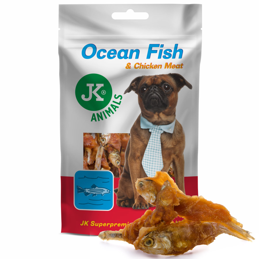 JK Kuracie mäso na rybe 80g  | © copyright jk animals, všechna práva vyhrazena
