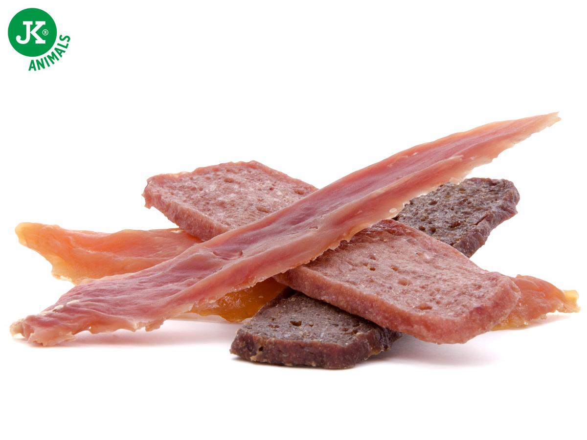 JK ANIMALS Meat Snack Mix, mäsová maškrta, 80g | © copyright jk animals, všetky práva vyhradené