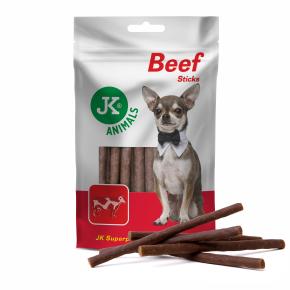 JK Meat Snack Beef Sticks, sušené hovädzie tyčinky, masová maškrta, 80g
