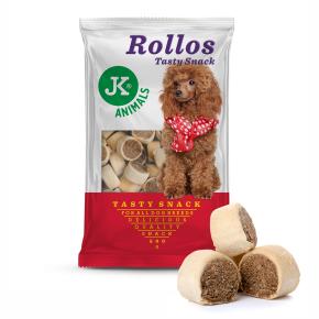 JK Biscuit - Rollos morkový - Tasty Snack 500g