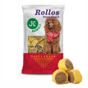 JK Biscuit - Rollos hydinový - Tasty Snack 500g