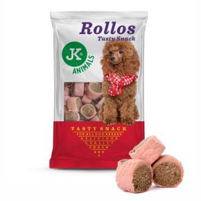 JK Biscuit - Rollos šunkový - Tasty Snack 500g