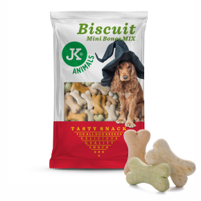 JK Biscuit - Mini Bone Mix - Tasty Snack 500g