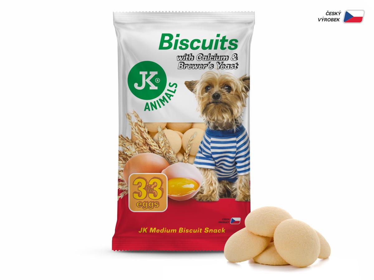 JK ANIMALS Piškoty, Biscuit with Calcium & Brewer 's Yeast, 250g   © copyright jk animals, všetky práva vyhradené
