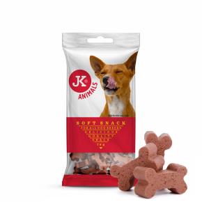 JK Soft Snack – šunkové kocky, polovlhká maškrta 70g
