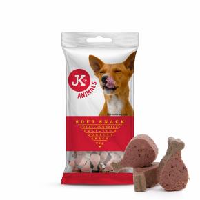 JK Soft Snack – duo kuracie stehienka, polovlhká maškrta 70g