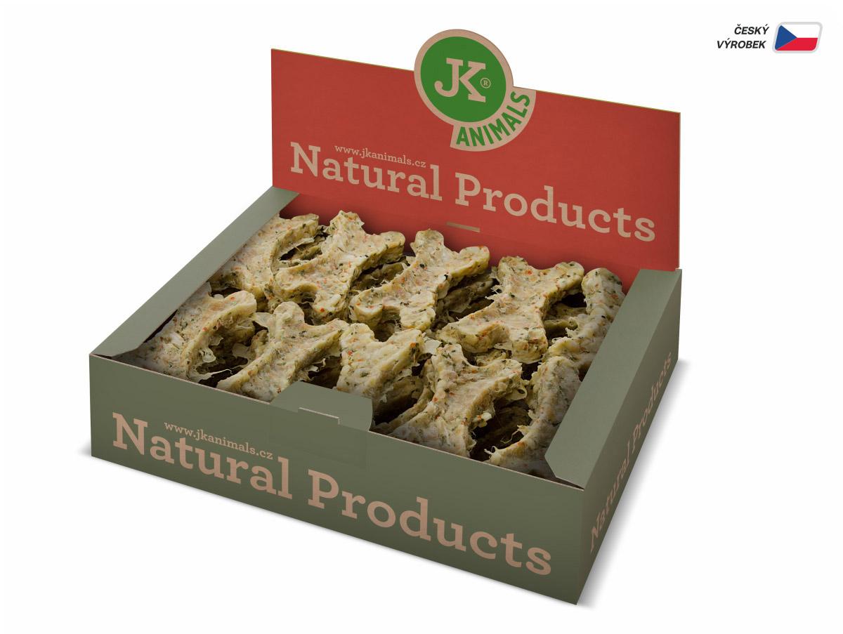 JK ANIMALS Kost Natural se zeleninou, 10 cm/27 ks | © copyright jk animals, všechna práva vyhrazena