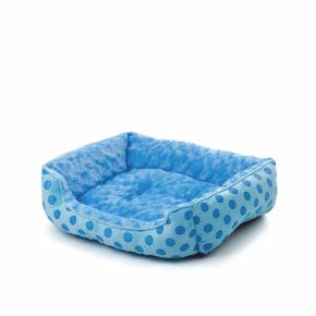 Pelech Puppy M modrý