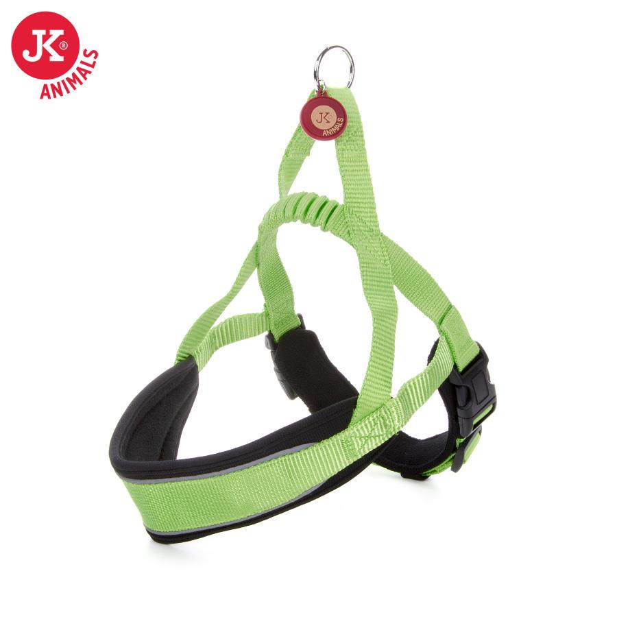 JK ANIMALS Postroj Comfort zelený | © copyright jk animals, všetky práva vyhradené