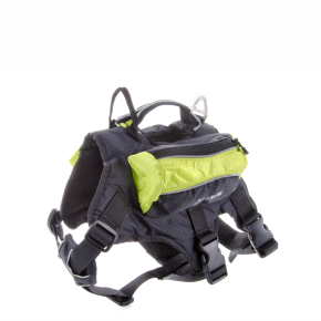 X-TRM postroj s batohom, zelený