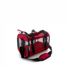 """JK Transportná taška sieť """"S"""" červená 36x22x25 cm"""