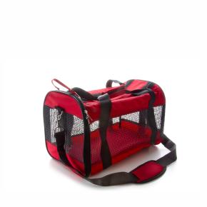 """JK Transportná taška sieť """"M"""" červená 43x25x27 cm"""