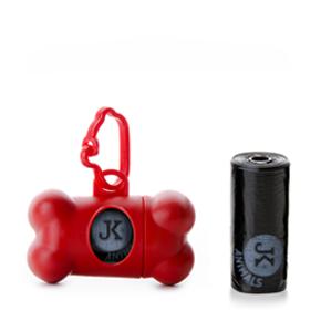 JK Puzdro s vreckami pre psie exkrementy (vanilková aróma)