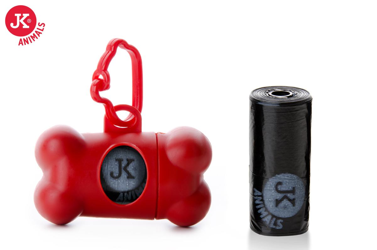 JK ANIMALS Plastový zásobník na vrecká pre psie exkrementy, vanilková aróma | © copyright jk animals, všetky práva vyhradené