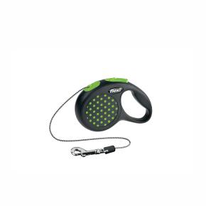 Flexi Design lanko XS 3m/8kg zelená