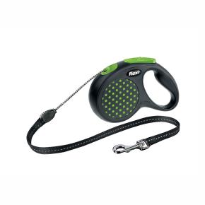 Flexi Design lanko S 5m/12kg zelená