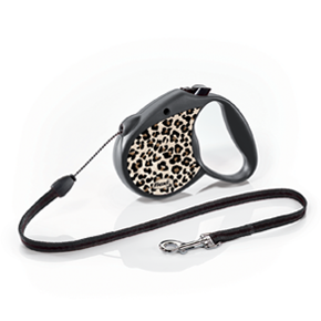 flexi Leopard Small, lanko 5 m/12 kg
