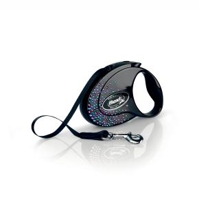 flexi Glam Splash Mystic Tape (pásik), veľkosť S, čierna