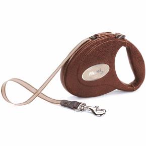 Flexi Leather CC pásik 5m/25kg, hnedá koža