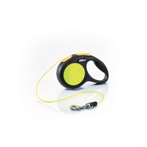 flexi New Neon lanko, veľkosť XS 3m/8 kg