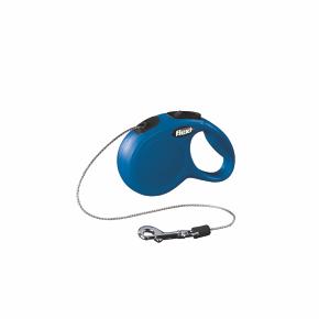 Flexi New Classic (lanko),veľkosť XS 3m/8kg, modrá