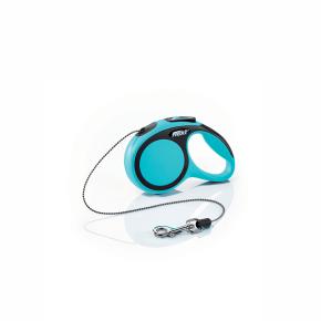 flexi New Comfort lanko, veľkosť XS 3m/8 kg, modrá