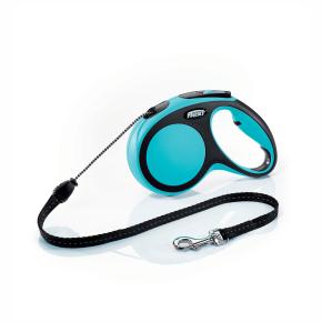 flexi New Comfort lanko, veľkosť M 5m/20 kg, modrá