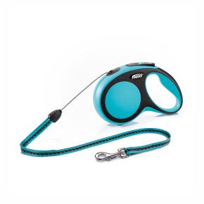 flexi New Comfort lanko, veľkosť S 8m/12 kg, modrá