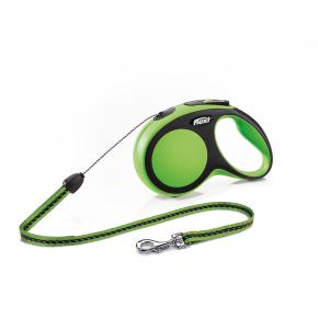 flexi New Comfort lanko, veľkosť S 8m/12 kg, zelená