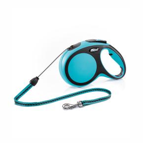 flexi New Comfort lanko, veľkosť M 8m/20 kg, modrá